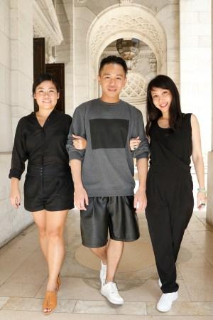 Danielle Woo, Max Tan and Elyn Wong.