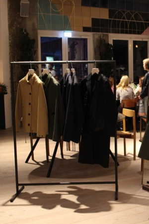 Stutterheim held a dinner to present its bonded cotton line at The Store Kitchen in BerlinÕs Soho House.