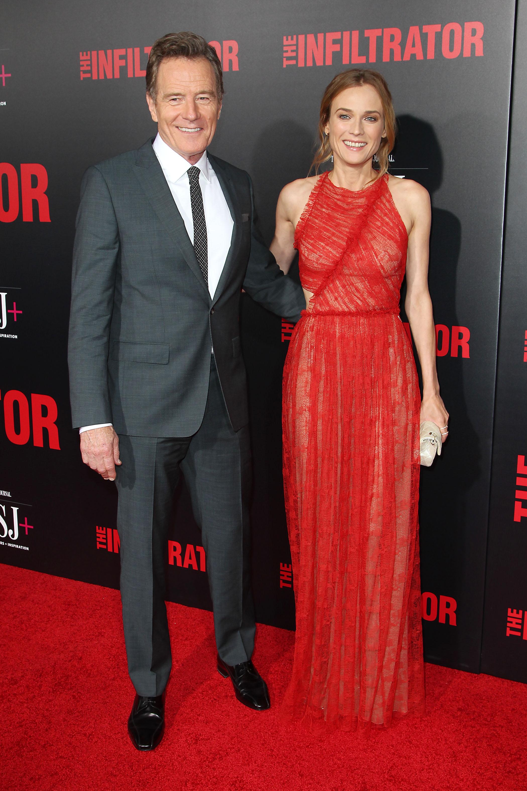Bryan Cranston and Diane Kruger