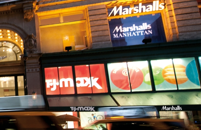 TJX t.j. maxx, marshalls