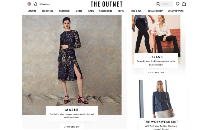 The Outnet said it knows a lot about how its customers approach style.