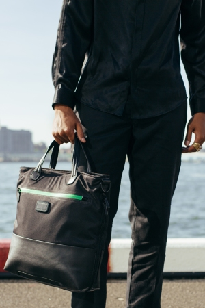A look from the Tumi-Heineken collaboration.