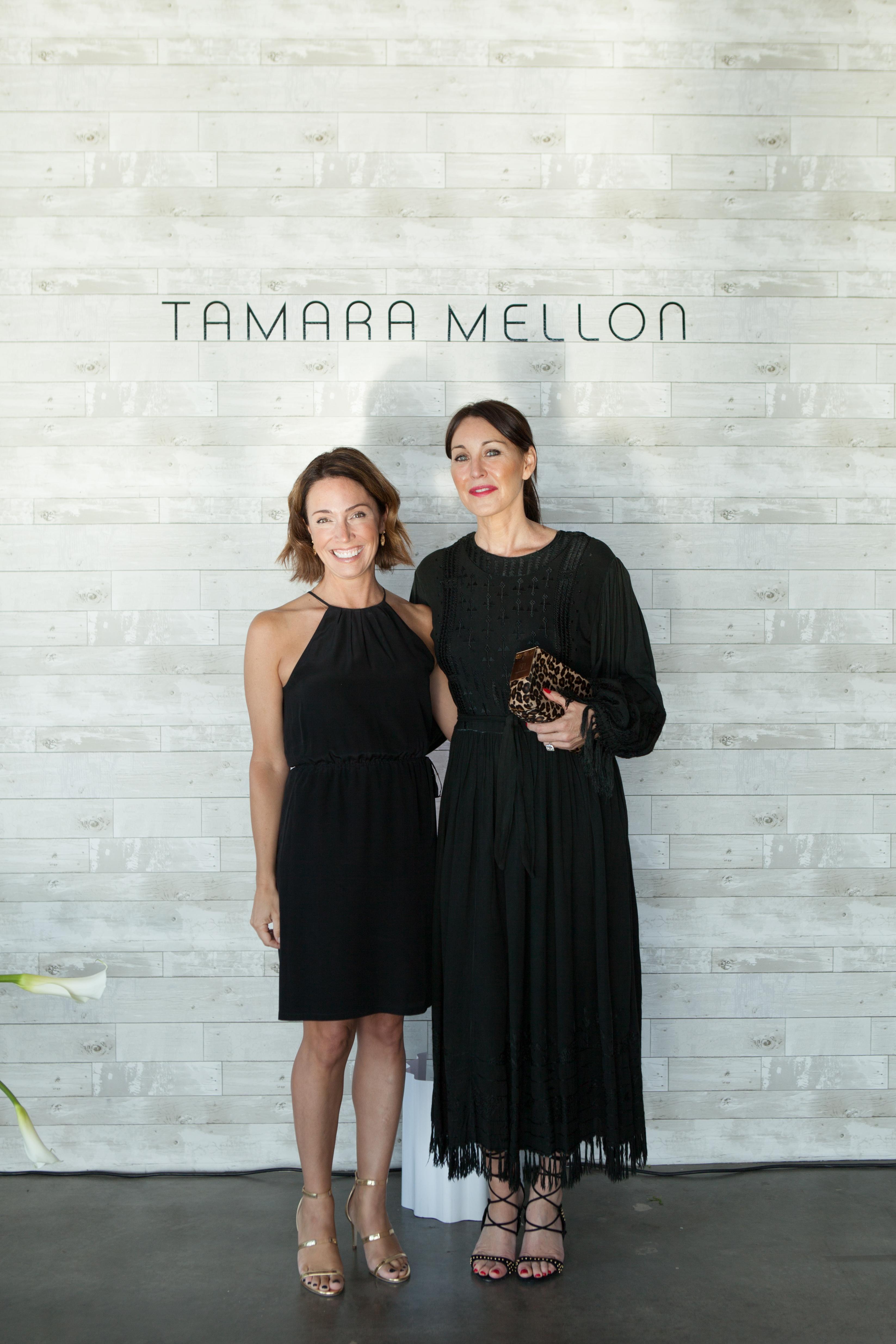 Jill Layfield and Tamara Mellon