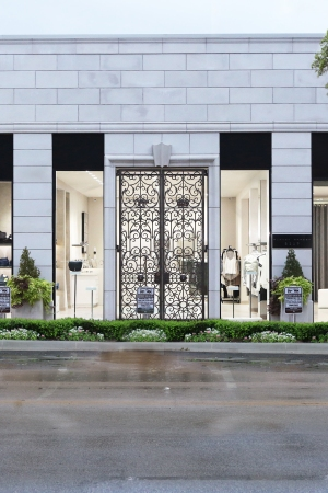 The facade of the new enlarged Planet Bardot on Knox Street in Dallas.