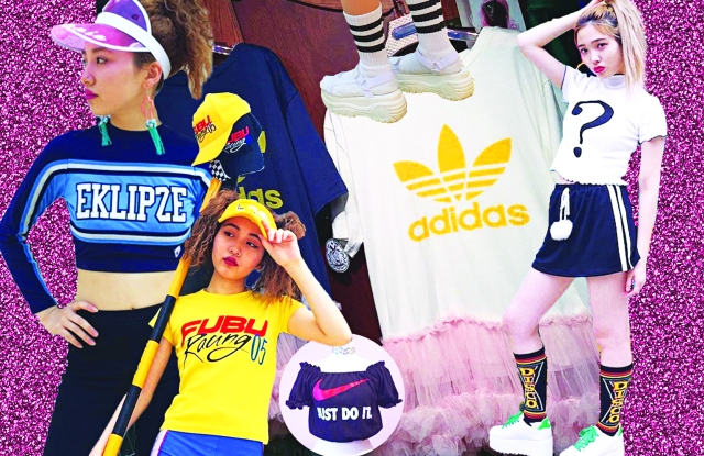 The frilly, youth-centric style of Kawaii is now imbued with an athletic context.