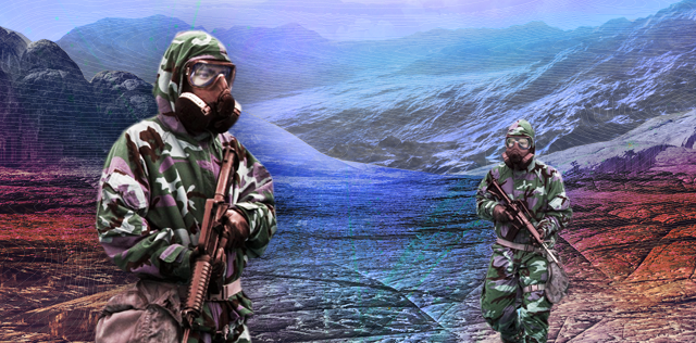 The U.S. military's chemical biological defense suit.