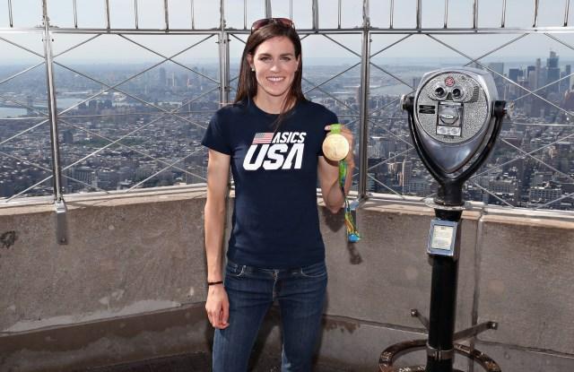 Gold Medal triathlete Gwen Jorgensen
