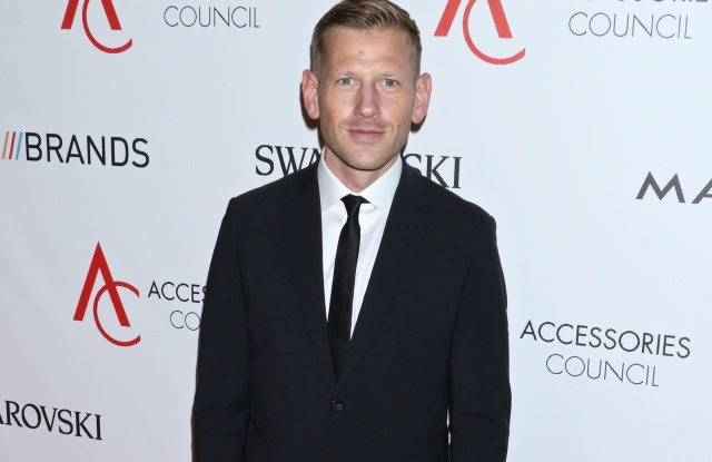 Paul Andrew at 2016 Accessories Council ACE Awards