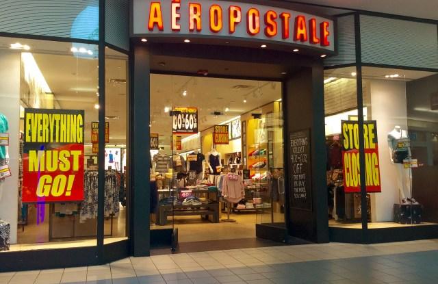 Aéropostale-closing