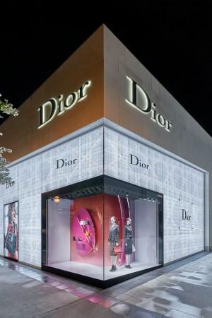 Dior's first Atlanta store.