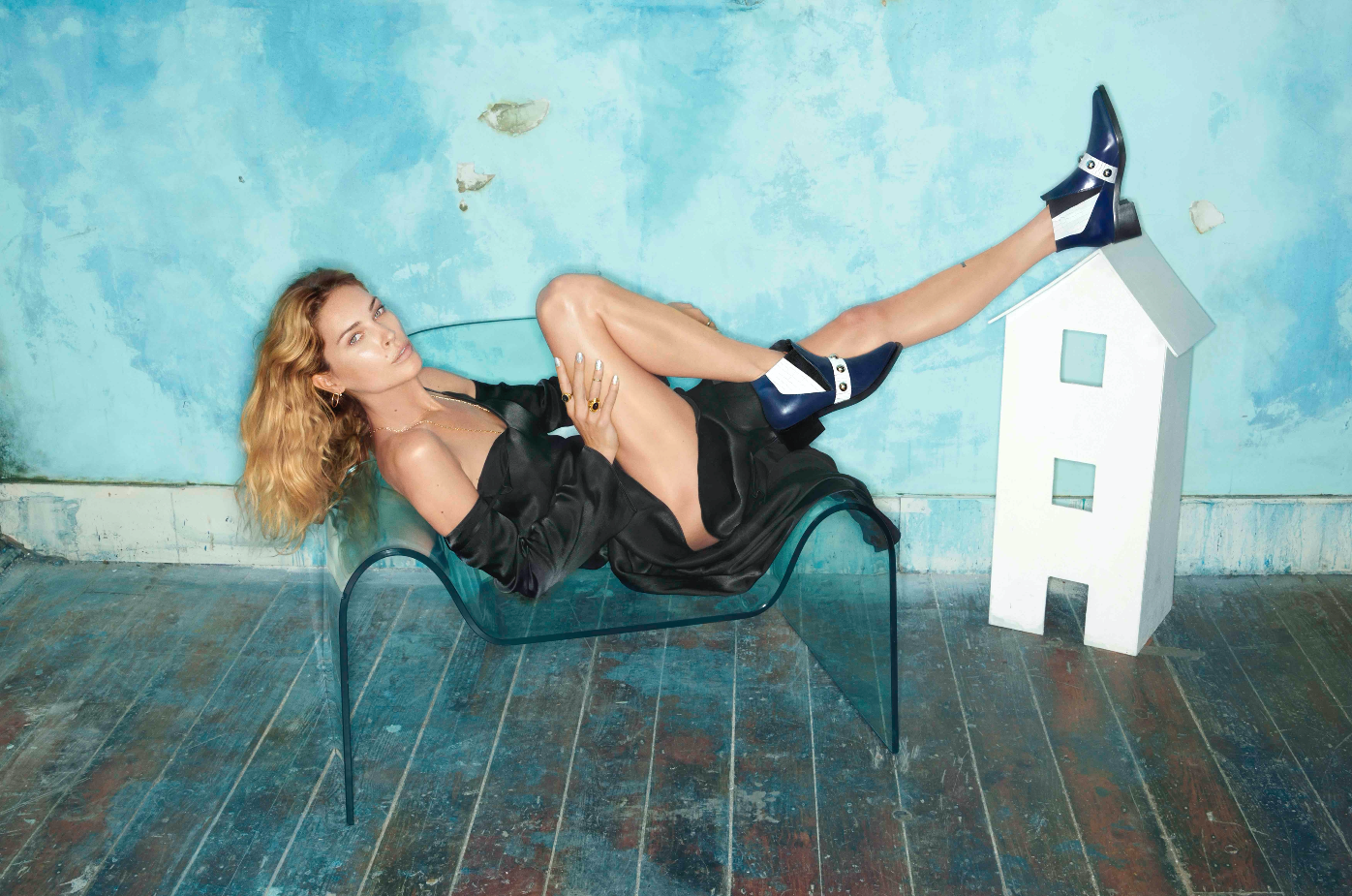 Attrbute's new campaign featuring Erin Wasson