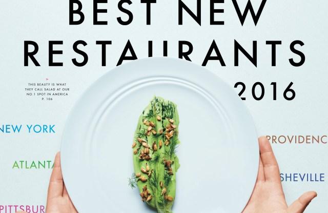 Bon Appétit's September cover.