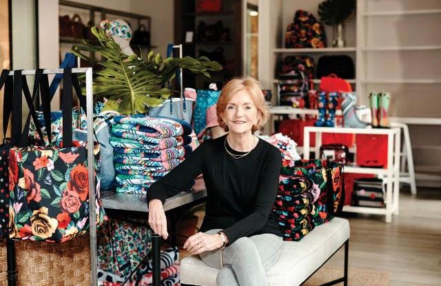 Barbara Bradley Baekgaard in Vera Bradley's New York Store