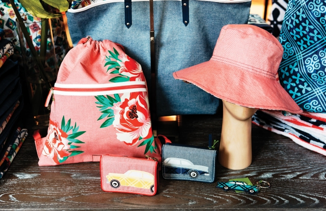A full range of accessories is anchored by Vera Bradley's signature printed bags