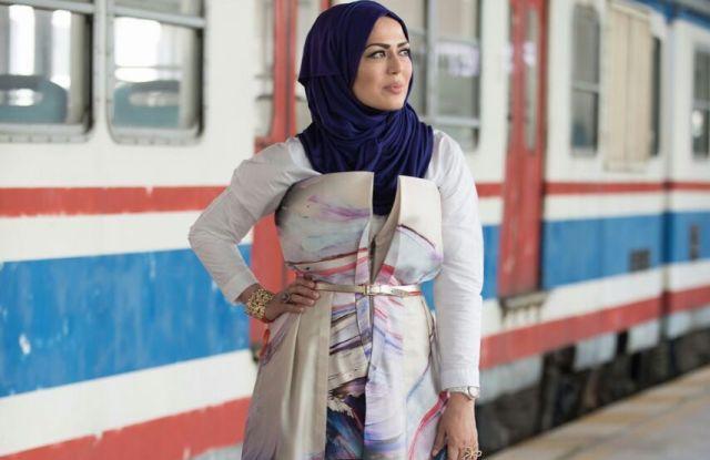 Rabia Zargarpur at Istanbul Modest Fashion Week