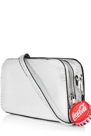 The Coca-Cola cross-body bag from Skinnydip collaboration with Coca-Cola.