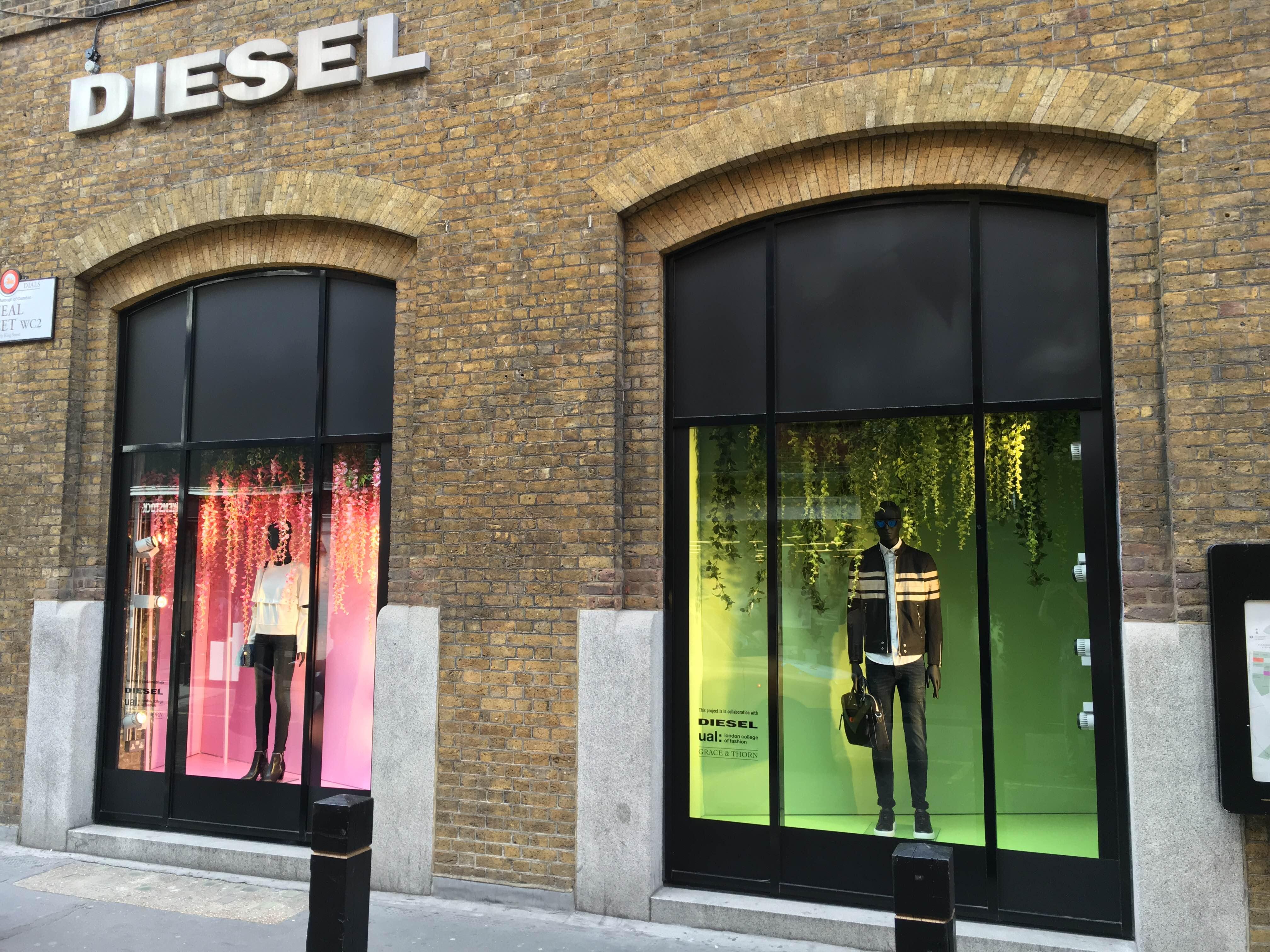 Diesel's Covent Garden store