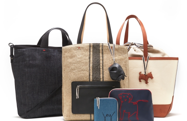A selection of ED handbags for spring.