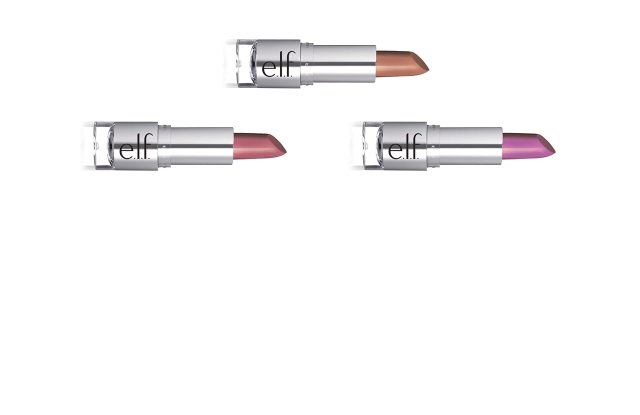 Lipstick shades fron Elf Cosmetics.