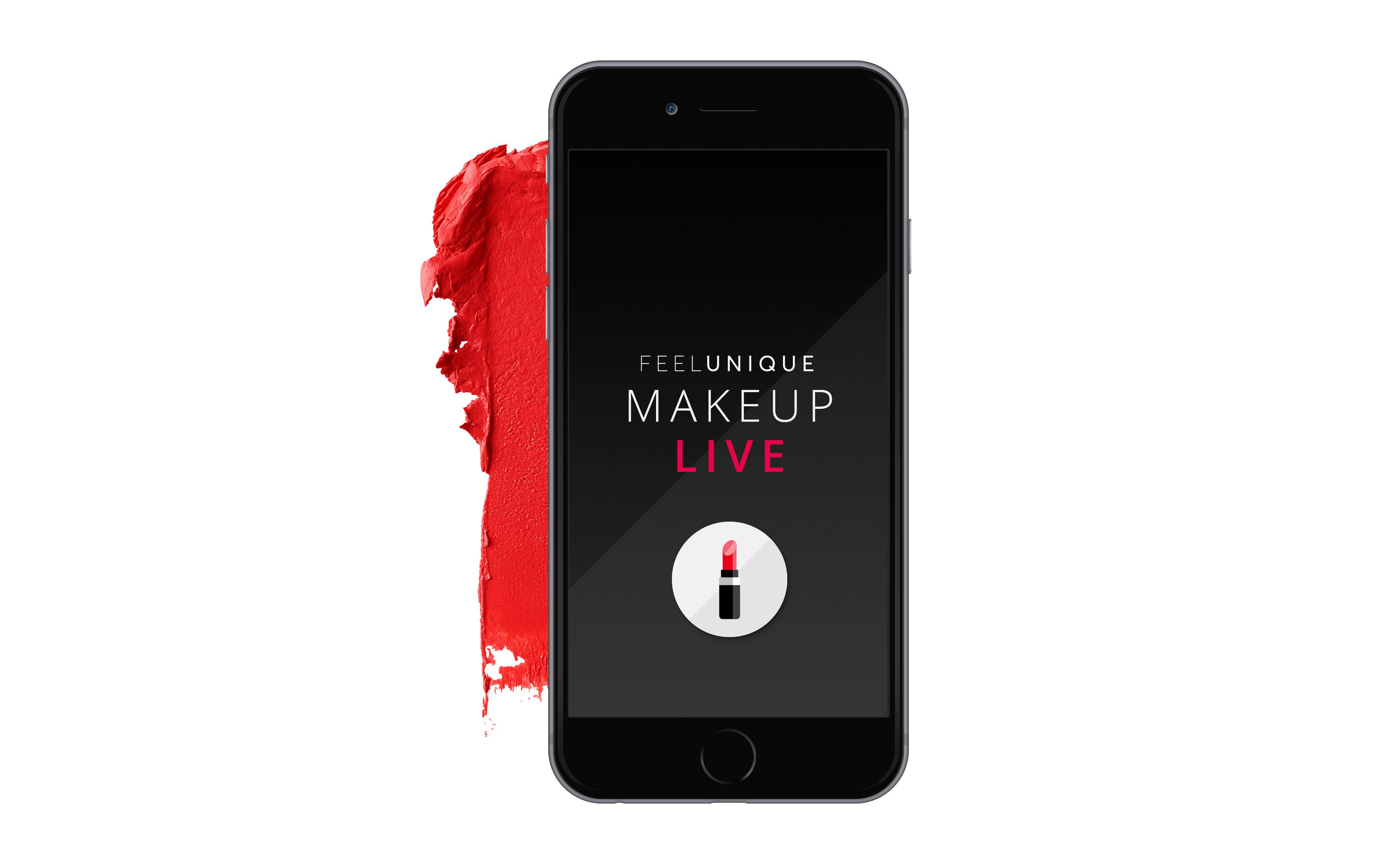 """Feelunique's """"Makeup Live"""" App"""