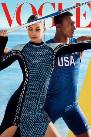 Vogue's August 2016 cover.