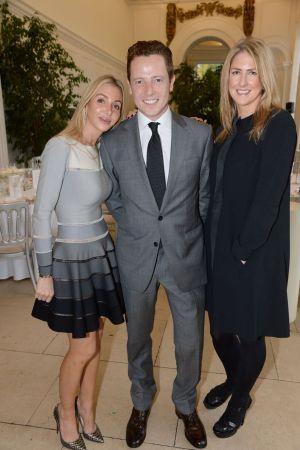 Helen David, Jason Broderick and Caroline Lyons