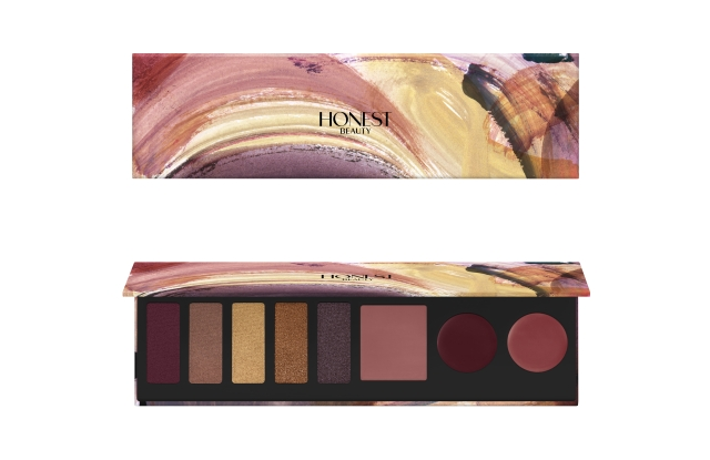 Honest Beauty's Falling For You Makeup Palette.