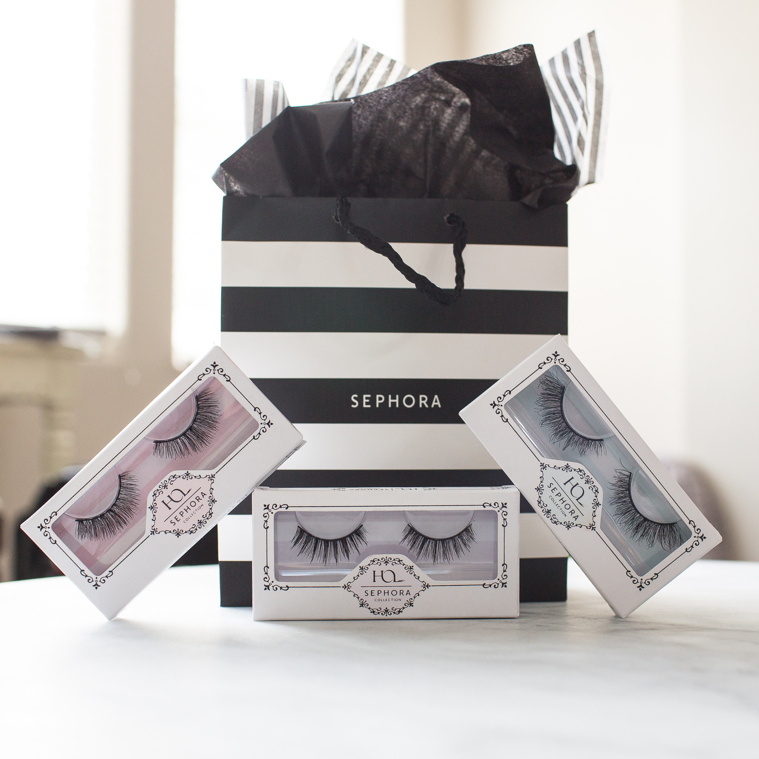 House of Lashes limited-edition Sephora Collection styles.