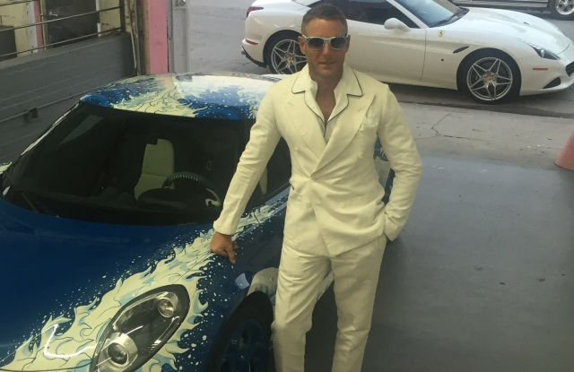 Piston Head II: Artists Engage the Automobile exhibit Lapo Elkann