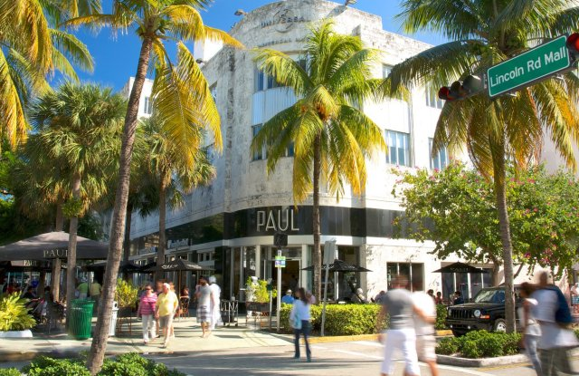 Lincoln Road Mall in Miami.