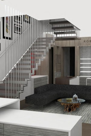 A rendering of the Madison Avenue store.