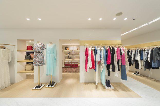 The Maje store in Hong Kong