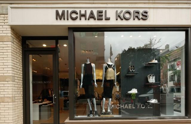The Michael Kors store on Bleeker Street.
