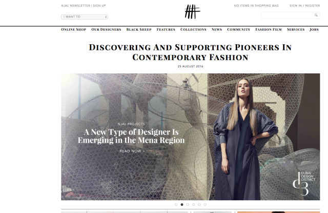 Notjustalabel.com launches 300 Middle Eastern designers