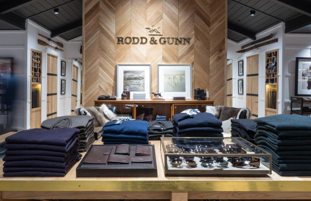 Rodd & Gunn store at the Chadstone Shopping Centre in Australia.