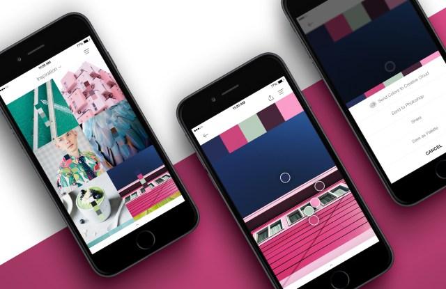 The Pantone Studio app.