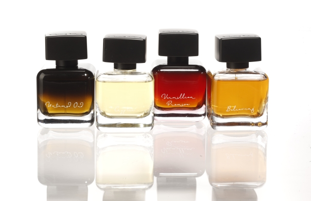 A selection of Phuong Dang Perfumes scents.