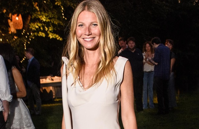 Gwyneth Paltrowat the goop and Net-a-Porter party in New York.