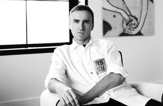 Raf Simons will show his eponymous line at NYFW: Men's