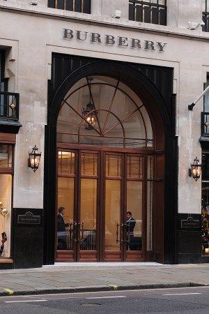 Burberry flagship store in Regent Street