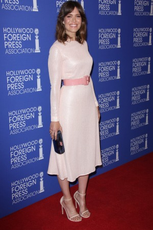 Mandy Moore at the Hollywood Foreign Press Association Grants Banquet.
