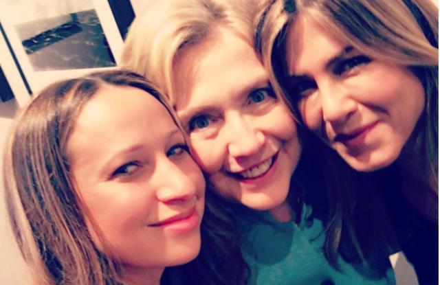 Jennifer Meyer, Hillary Clinton and Jennifer Aniston.