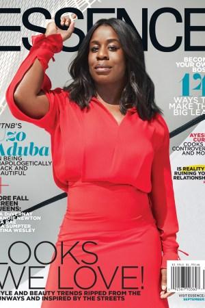 Uzo Aduba on Essence's September 2016 cover