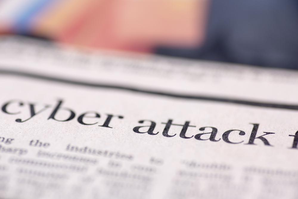 cyber attacks.