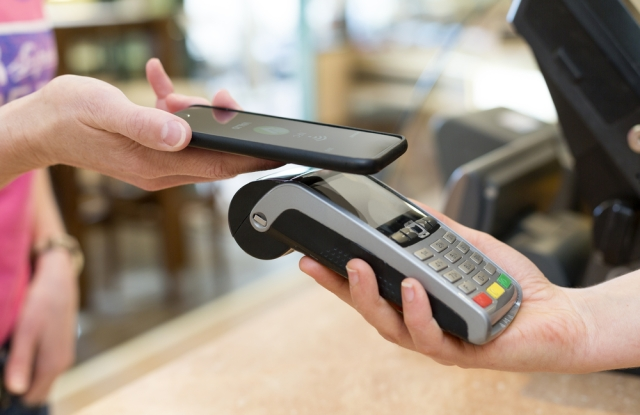 Contactless payments continues to grow, especially in Europe.