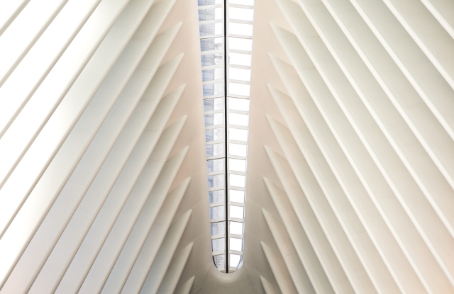 The Oculus at the World Trade Center contains the Westfield World Trade mall.