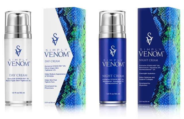 Simply Venom, a skin-care line created by anesthesiologists Dr. Monica Lilore and Dr. Milija Milic.