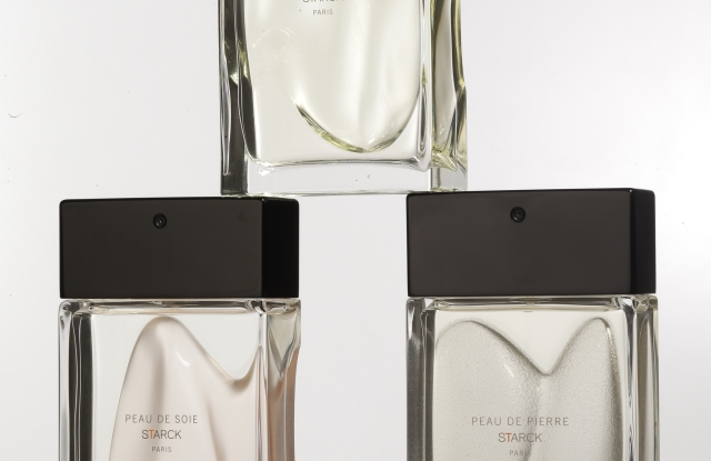 Philippe Starck's trio of fragrances.