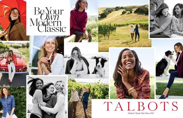 Talbots October ad.