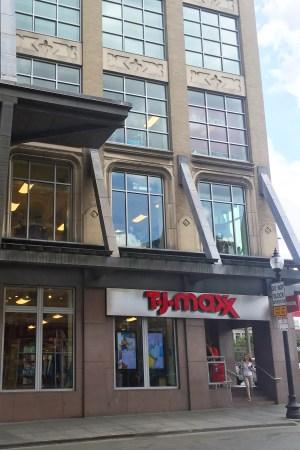 t.j. maxx, tjx, boston, newbury street